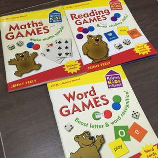 Funtastic Helping Kids At Home Maths Reading Word Games