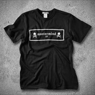 Mastermind Japan X End Box Logo T-Shirt