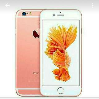 IPHONE 6S ROSE GOLD NEW SET