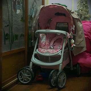 GRACO奇哥9.9成新豪華嬰兒推車