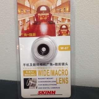 Wide/ Macro Lens