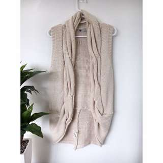 Nude Knitted Vest