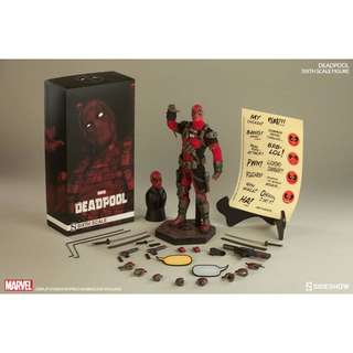 Sideshow Sixth Scale Figure Deadpool Exclusive
