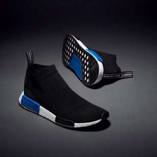 BLACK NMD CITY SOCK 9 UK