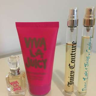 Juicy Couture - Mini Perfume Spray Plus Hand Cream