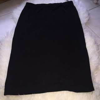 Black Midi Skirt Size 12