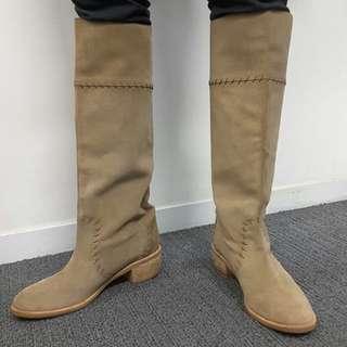 Kanematsu Coba (Knee High Suede Boots)