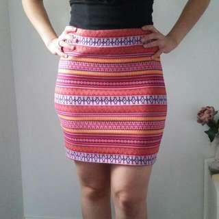 Sports girl boho Skirt Size M