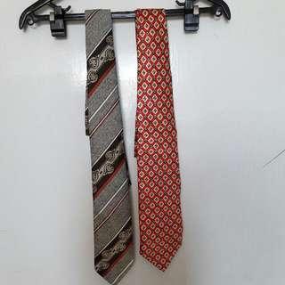 復古花樣領帶2(入)