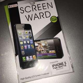 iPhone 5 F&B Matte Screen Protector