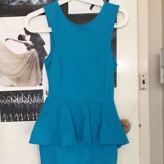Peplum Dress (from Live clothing)