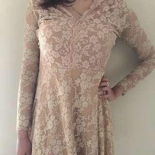 lace dress import