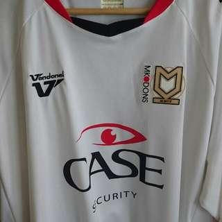 MK Dons FC Home Jersey 3XL *rare*