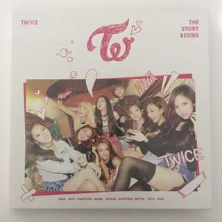 TWICE - The Story Begins [No Photocard]