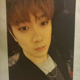 "FT Island Minhwan ""I Will"" Photocard"