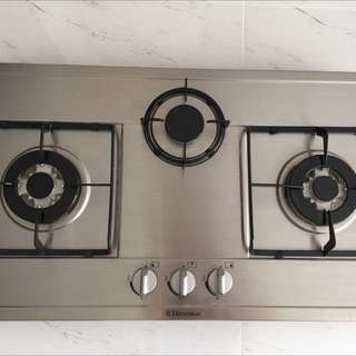 Electrolux Stainless Steel Gas Stove