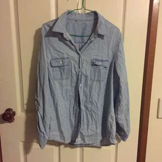 Ladies Flannel Shirt