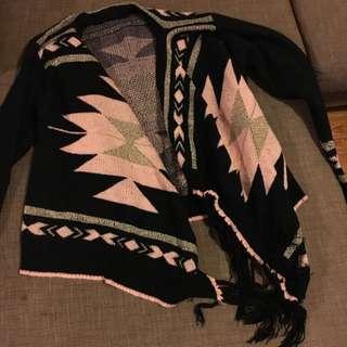 Shawl Cardigan Size 8-10