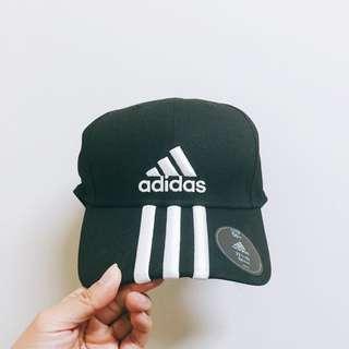 Adidas帆布老帽(黑)