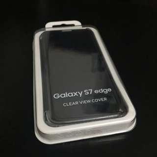 Original Samsung Galaxy S7 Edge Clear View Cover