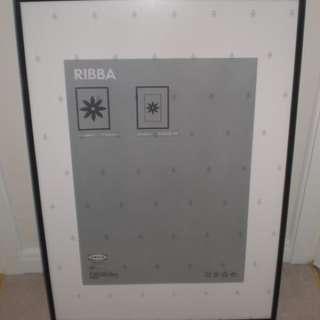 IKEA Ribba Black Frame (70x100cm)