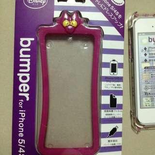愛麗絲貓Iphone5/5s軟邊框