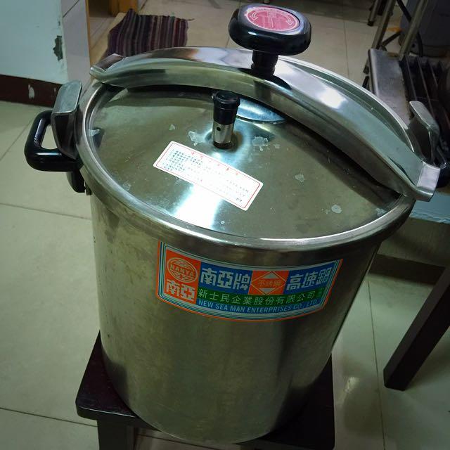 ✌🏻️九成新高速壓力鍋(25公升)