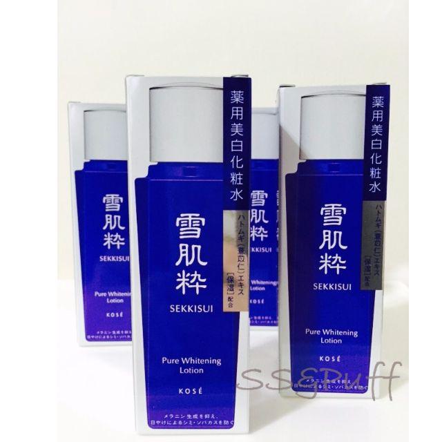 日本7-11限定雪肌粹美白保濕精華化妝水