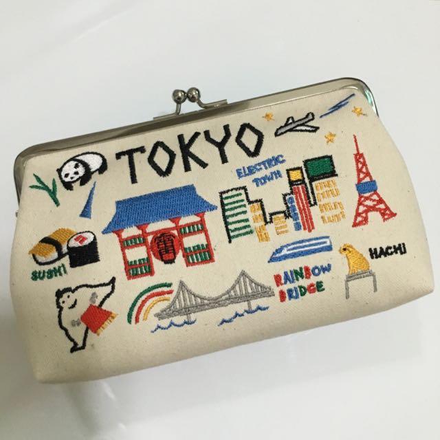 日本創意珠扣包
