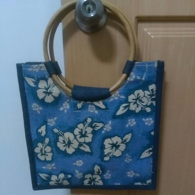 [全新]日本扶桑花提袋