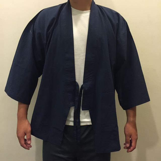 深藍色 甚平/和服/浴衣