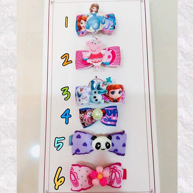 寶寶頭飾禮盒6個含盒裝
