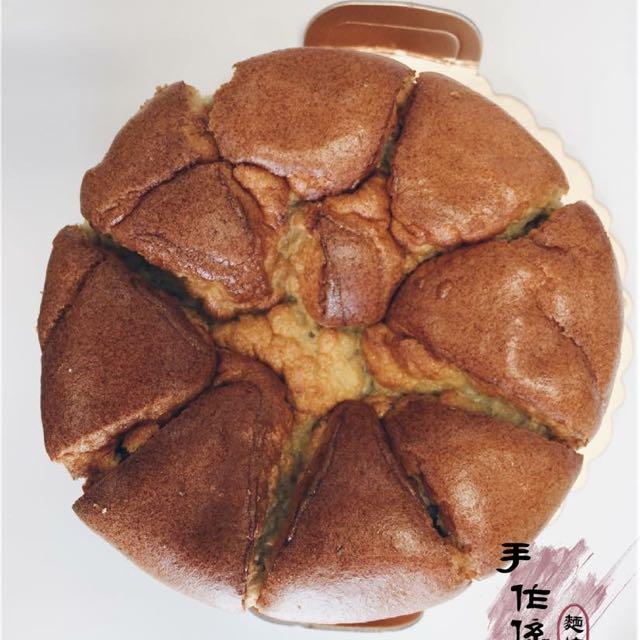 💯 純手工🔺香蕉戚風蛋糕 六寸💯 🔺
