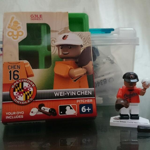 陳偉殷 金鶯 MLB Lego 積木 樂高 公仔 人偶 正品