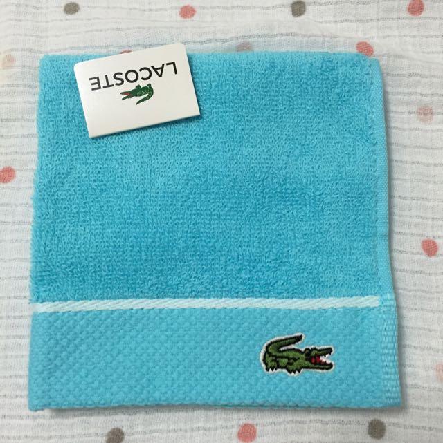 🈹🔰降價 LACOSTE 方巾 🇯🇵新鮮日貨🇯🇵 小毛巾 手帕 情侶手帕 寶寶巾