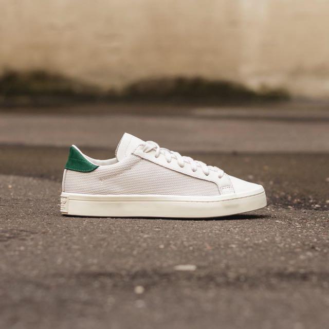 Adidas Court Vantage 白綠 男女段