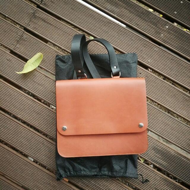Beautiful Tan and Black Kate Sheridan Bag