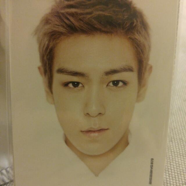 Big Bang Collection Card TOP #73, #58