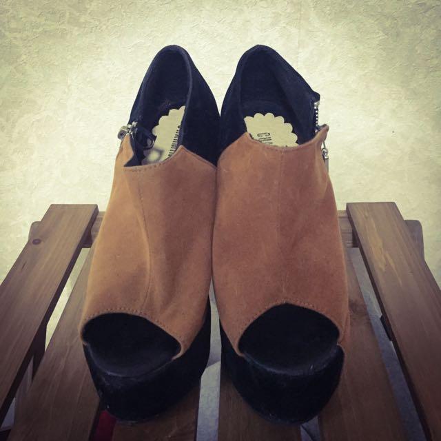 CHARMING Girl 專櫃楔型鞋