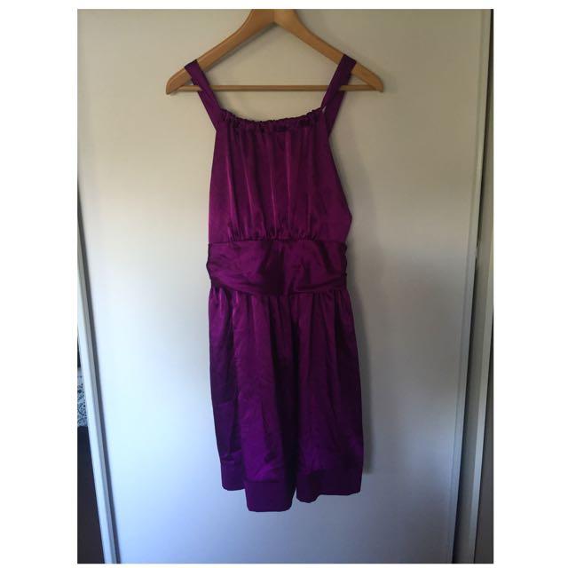Cooper Street Size 12 Purple Dress