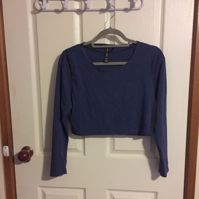 Crop Top Long Sleeve