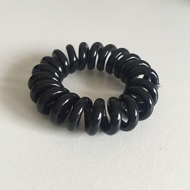 elastic ponytail holder/ hair band