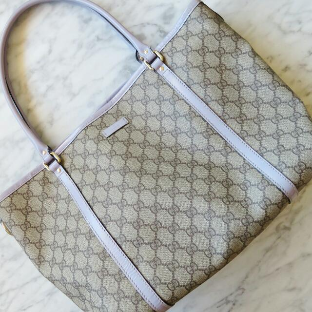 Gucci GG Plus Coated Canvas Tote