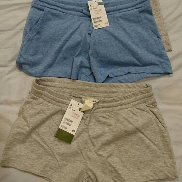 H&M女童休閒短褲