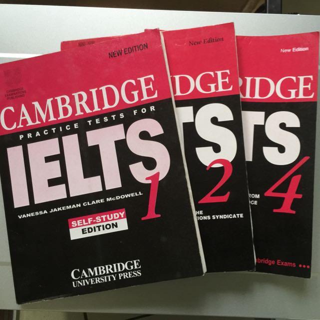 IELTS Test Preparation Materials