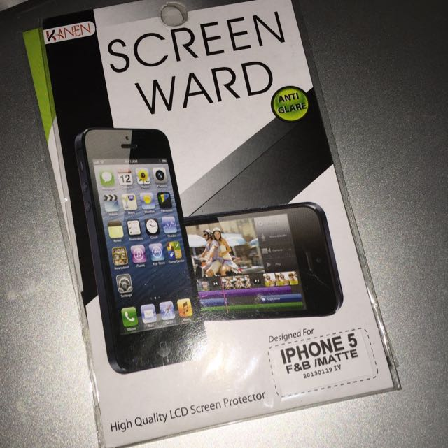 iPhone 5 F&B Matte Screen Protector