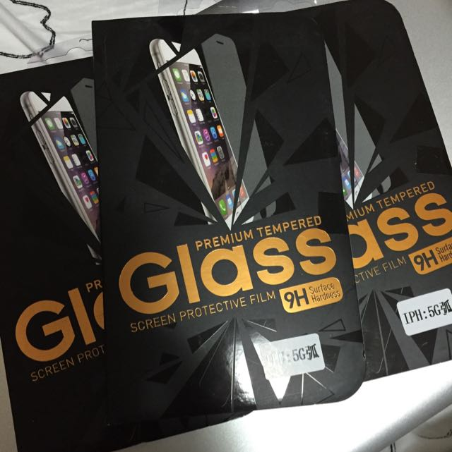 iPhone 5 Glass Protector - Free Postage