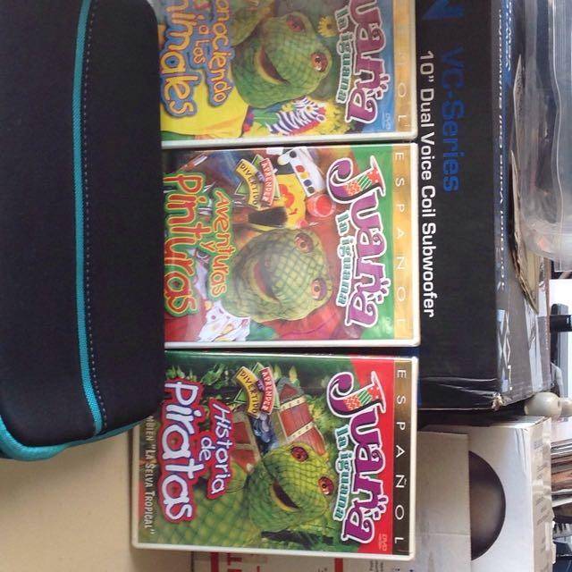 Juana La Iguana DVDs