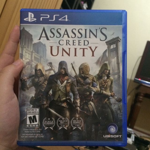 Kaset PS4 Reg. All ASSASSIN'S CREED UNITY