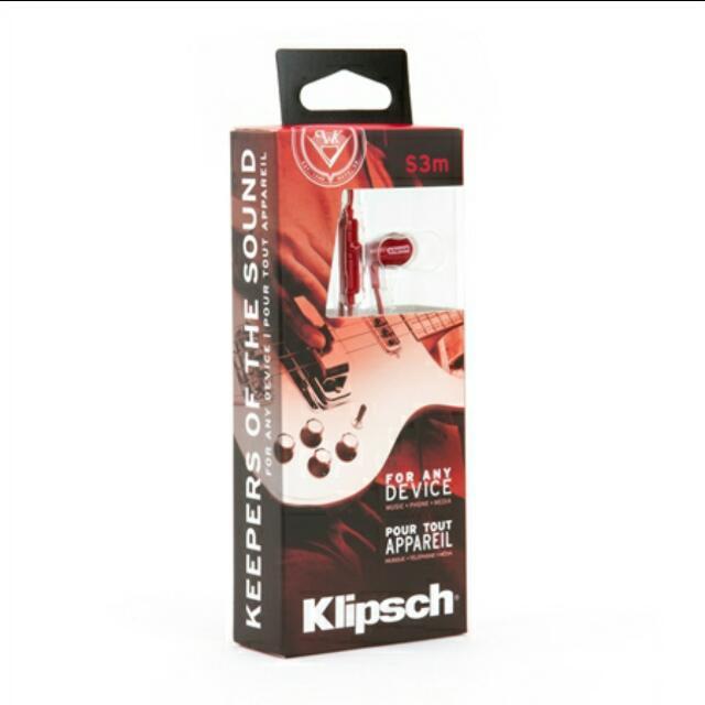 KLIPSCH S3m Earphones